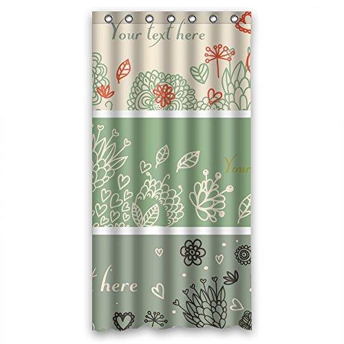 Flamingo Muster Print Dusche Vorhänge Polyester-167,6x 182,9cm-Badezimmer Vorhang mit Haken
