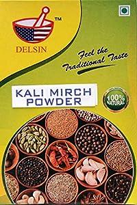 Delsin spices Black Pepper Powder 100gm(Pack of 2)