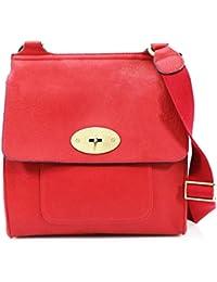 d288f0fc186d LeahWard® Women s Cross Body Flap Handbags High Quality Faux Leather  Shoulder Across Body Bag For