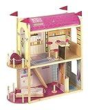 Roba 9451 - Puppenhaus für Ankleidepuppen, 2-stöckig