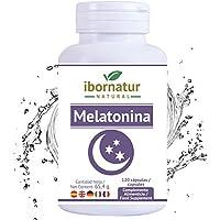 Melatonina para conciliar el sueño | Beneficioso para dormir mejor por más tiempo y relajarse | Reduce el insomnio.