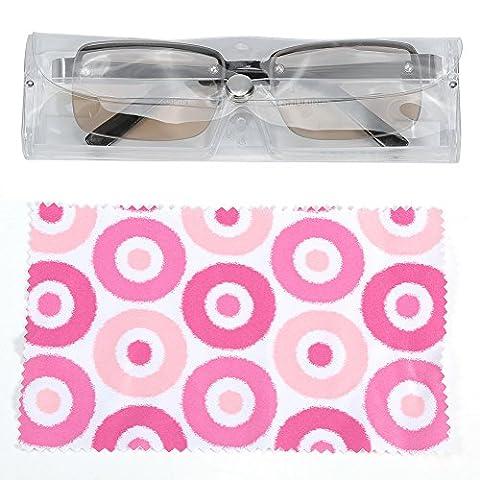 Presbyopic reading glasses, Crystal Presbyopic Fatigue Relieve Reading Half Rim