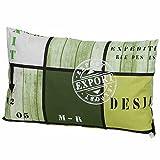 Madison Tom Zierkissen, Baumwolle, lime, 40 x 60 x 12 cm, PIL3B277