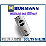 Télécommande HÖRMANN HSE2 868-BS silver , 868,35 Mhz