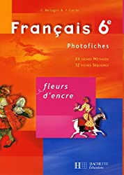 Français 6e : Photofiches