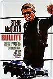 Steve McQueen película nostálgico Cartel de chapa 20x 30Retro Chapa 1805