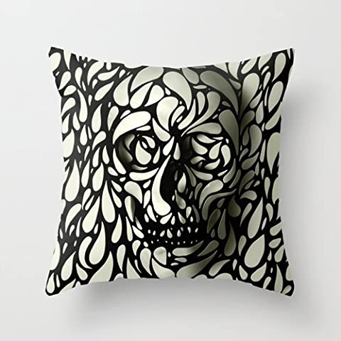 MaSoyy The Skull Throw Cushion Covers Of ,20 X 20