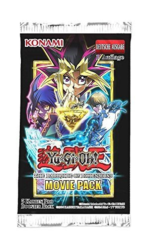 Preisvergleich Produktbild Yu-Gi-Oh! The Dark Side of Dimension Movie Pack 1 Booster