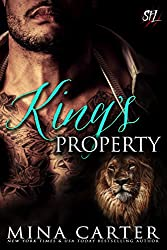 King's Property: Paranormal Shape Shifter Alpha Male Cage Fighter Werelion romance (Shifter Fight League Book 2) (English Edition)