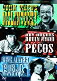 3 Classic Westerns Of The Silver Screen - Vol. 3 - McLintock / Robin Hood Of The Pecos / Public Cowboy No. 1 [DVD]