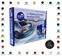 Dolphin Car Van Front Parking Sensors With Longer 6m Leads and Parking Switch in 32 Coloured Options UK (Reflex Blue)