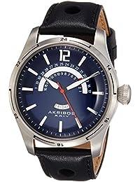 Akribos XXIV Analog Blue Dial Men's Watch - AK850BU