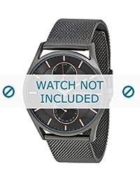 Skagen correa de reloj SKW6180 Metal Gris 22mm(Sólo reloj correa - RELOJ NO INCLUIDO!)