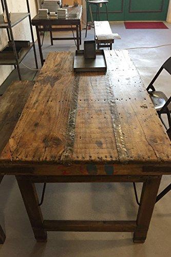 Holz klappbar Shabby-Chic (Altholz Tisch)