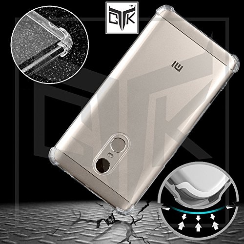 best website 00a7f d5f3e Redmi Note 4 Back Cover + Tempered Glass Combo - Anti-Shock Soft Back Cover  + Full Screen Tempered Glass (Golden) - By TheGiftKart