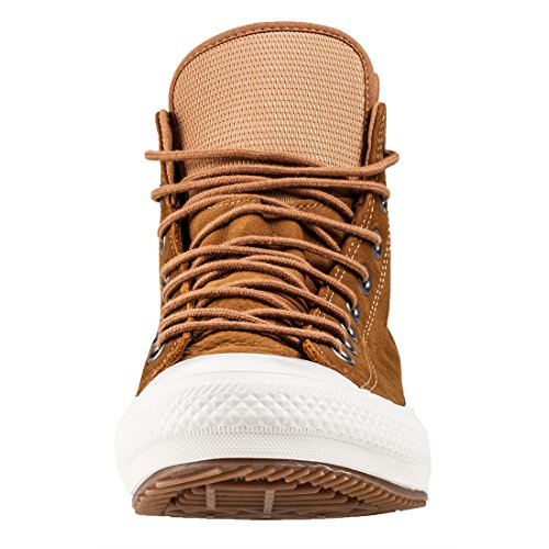 Converse Leather Boot Mid fodera Pinecone Brown 134478C Tan