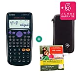 Casio FX-82DE Plus + Schutztasche + Lern-CD (auf Deutsch) + Erweiterte Garantie