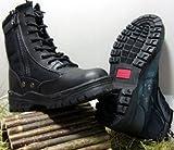 McAllister Outdoor Boots Stiefel Einsatzstiefel Wanderstiefel Trekkingstiefel (Schwarz/45)