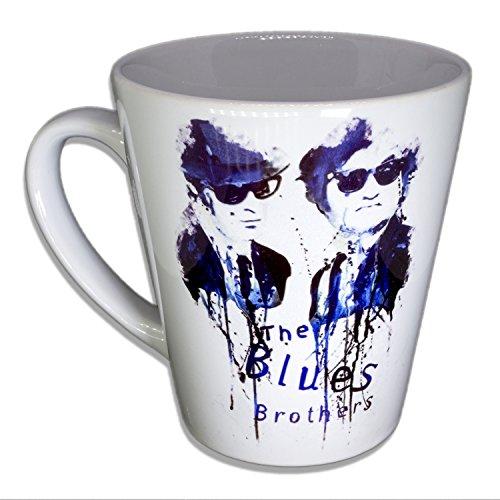 The blues Brothers - Handarbeit Designer Tasse aus brillanten Porzellan Unikat - Tasse, Becher,...