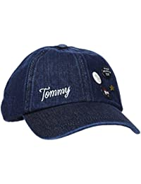 Hilfiger Denim Damen Patches&Pins Baseball Cap Blau (Denim 440), One Size
