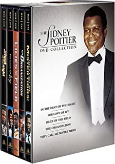 The Sidney Poitier DVD Collection (For Love of Ivy / In the Heat of the Night / Lilies of the Field / The Organization / They C