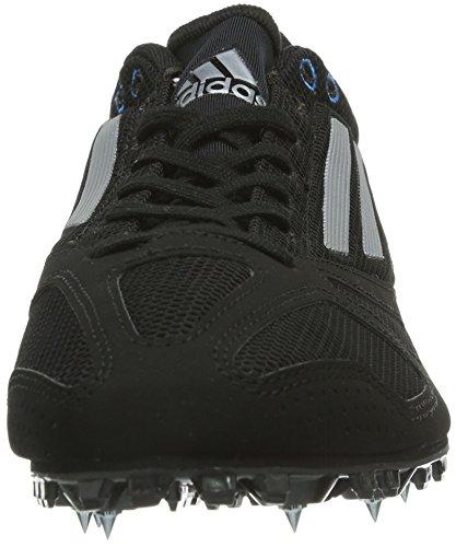 adidas techstar allround 3 D66538 Unisex-Erwachsene Laufschuhe Schwarz (Black1/Teg)