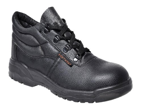 Portwest Scarpe antinfortunistica, color Nero (Black), talla 51 EU Nero
