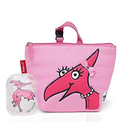 Zip & Zoe , Kinderrucksack Pink Daisy Dino