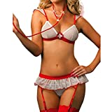 Ranboo Frauen Cosplay Krankenschwester Dessous Kostüm Uniform Sleeping Wear