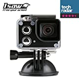 ISAW® EDGE 4K Ultra HD / 1080P Full HD Action Camera with...