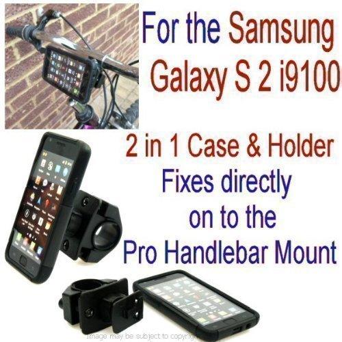 Buybits - Supporto per mountain bike antiurto per Samsung Galaxy S2 i9100