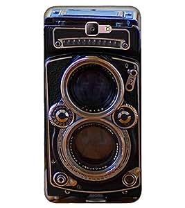 For Samsung Galaxy A7 (2017) old camera ( old camera, vintage camera, camera, niec camera, lense ) Printed Designer Back Case Cover By FashionCops