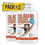 Colágeno hidrolizado con calcio para huesos y articulaciones - Colágeno con vitamina C y vitamina D para ayudar a la energía del día a día - 900 comprimidos