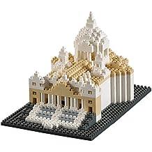Brixies 410135 - Puzle 3D, diseño de la Basílica de San Pedro, 627piezas, nivel de dificultad 4, muy difícil, multicolor
