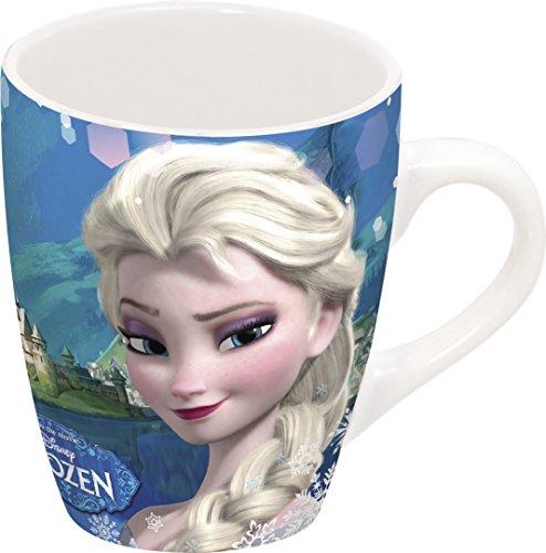 Unbranded 8011669 La Reine des Neiges Coffret Mug Conik Porcelaine Bleu 35 cl