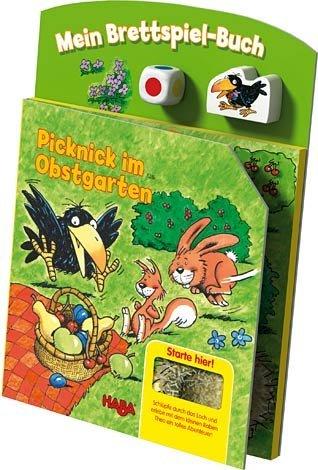 Haba 5286 Brettspielbuch Picknick im Obstgarten