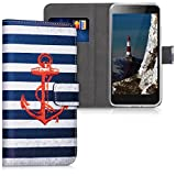 kwmobile Wallet Case for Lenovo C2 - [PU Leather]