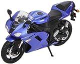 Kawasaki Ninja ZX-6R in blau-Modellbausatz im Maßstab 1:12 von Maisto