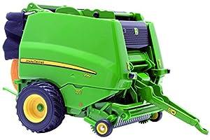 Britains - Embaladora John Deere 990, Color Verde, Amarillo y Negro (Tomy 42784)