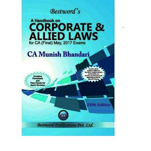 A Handbook on Corporate and Allied Laws by MUNISH BHANDARI For CA FINAL Applicable For May 2017 Exams (20)