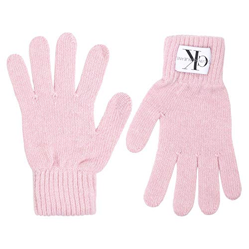 Calvin Klein CK Wmn Gloves Basic Rosa Farbe: Red