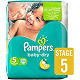 Pampers Baby Dry Size 5 Essential Pack 39 per pack