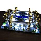 Stadion-3D-Puzzle-Modell, Deutscher Liga-Riese Dortmund Iduna Signal Park, mit LED-Spielzeugsachen für Erwachsene
