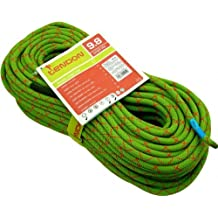 Cuerda Escalada Tendón SmartLite 9,8 mm - Verde, Poliamida, 60m