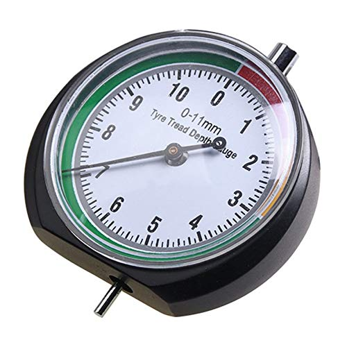 Preisvergleich Produktbild KNOSSOS Tire Tread Depth Gauge Tire Gauge Meter Measurer Tread Checker Tire Tester