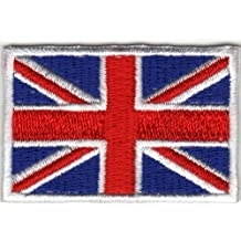 Parche para planchar Iron on patches applikation Inglaterra Bandera UK UNITED KINGDOM grande britanien