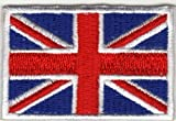 Aufnäher Aufbügler Iron on Patches Applikation England Flagge UK United Kingdom Großbritanien