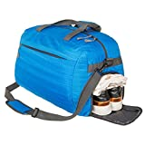 Coreal Duffle Bag Sports Gym Travel Camping Luggage Including Shoes Compartment Women