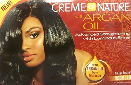 Relaxer/Lissage CrÚme CrÚme of Nature with Huile d'Argan Relaxer Regular