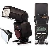 Yongnuo YN685 Flash Speedlite 1/8000s GN60 i-TTL 2.4G Sans fil pour Nikon DSLR caméra compatible avec système sans fil de YONGNUO 622N/603 + diffuseur softbox